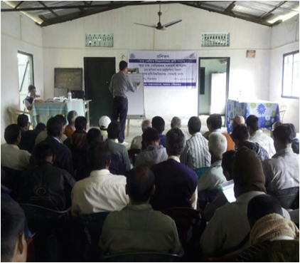 Field Training session at Borhat T.E.