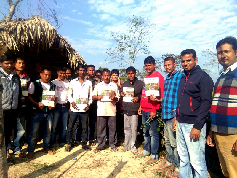 TRA training at Fesuwal with STG`s of H.P. Tea Plantation