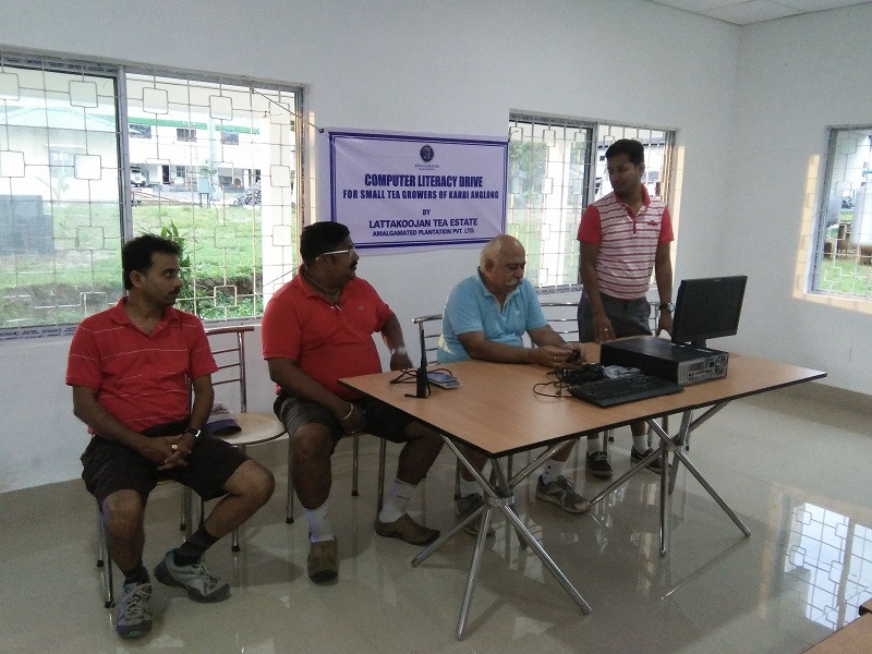 Computer literacy for STG`s of Karbi Anglong