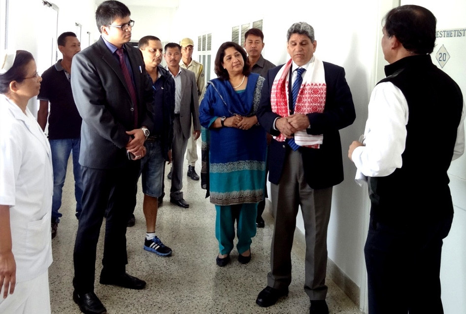 Chief Secretary, Govt of Assam visits RHRC Chubwa