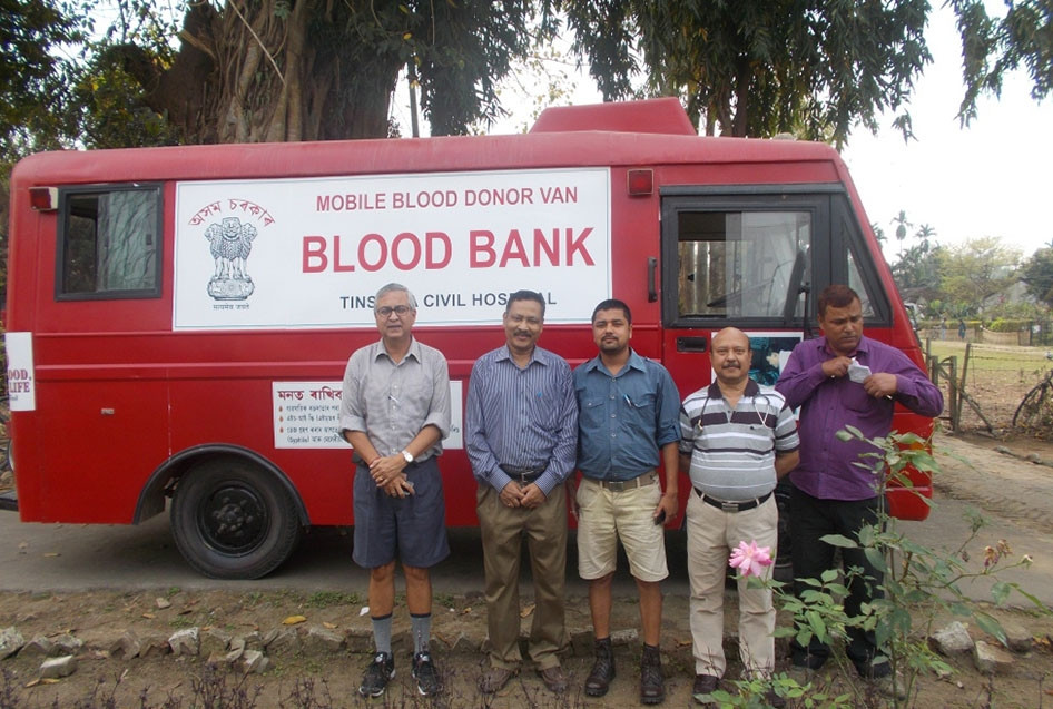 TATA Volunteering Week – Blood Donation Camp at Powai Tea Estate