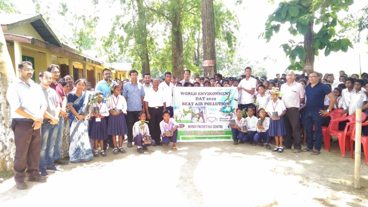 World Environment Day - Nonoi Packetting Center