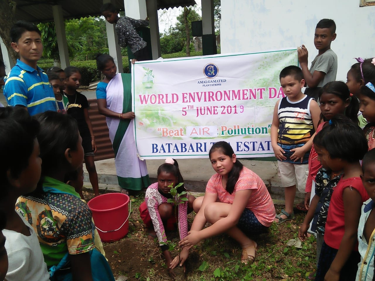 World Environment Day - Batabari Tea Estate