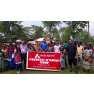 Financial Literacy Camp by Axis Bank for Garden Workers