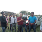 Street Paly on Road Safety at Sagmootea TE