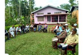 TRA Training at Meleng with STGs of Ashim Tea Plantation