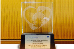 "Amalgamated Plantations awarded special recognition on ""Community Impact"" by Tata Sustainability Group"