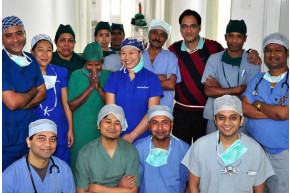 Cleft Surgery Camp at RHRC with Operation Smile