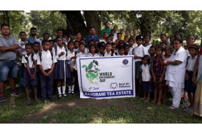 World Environment Day - Nahorani Tea Estate