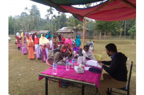 Health Camp for Villagers - Bhelaguri